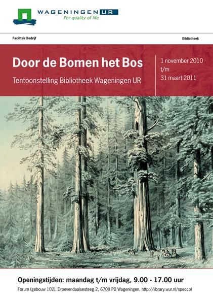 Flyer Door de Bomen het Bos